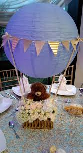 teddy bears inside balloons 19 paper lantern décor ideas for baby showers shelterness