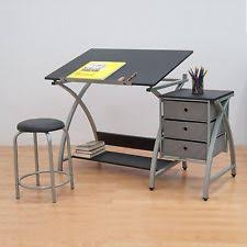Drafting Table And Chair Set Adjustable Drafting Table With Chair Stool Set Home Hobby Work