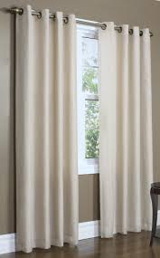 Wide Window Curtains by Rhapsody Lined Grommet Top Curtain Thermavoile Panel European
