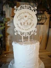 otter cake topper laser cut bamboo wood one 1st birthday cake topper laser