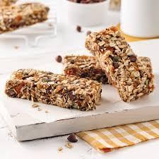 cuisine sans cuisson barres granola sans cuisson recettes cuisine et nutrition