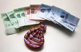 new year money bags korean new year