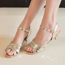 shosole brand silver low heel wedding shoes kitten heels sandals