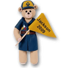 cub scout personalized ornaments by
