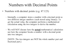 binary and decimal numbers ppt video online download