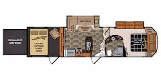 voltage toy hauler floor plans 2012 dutchmen voltage v3200 trailer reviews prices and specs