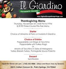 thanksgiving dinner in palm springs gluten free penne alla norma yelp