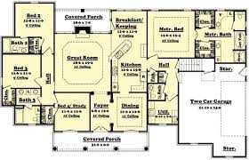 plan for a four bedroomed house house decor