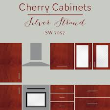 kitchen wall color ideas with cherry cabinets the best wall colors to update stained cabinets rugh design