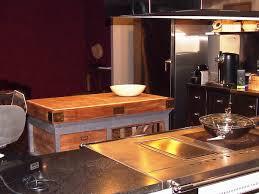 billot central de cuisine billot central de cuisine astucieux cuisine amenagee ilot central