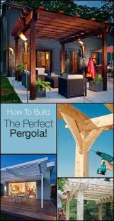 Building Your Own Pergola by Pergola End Cut Designs Pergolas Patterns And Arbors