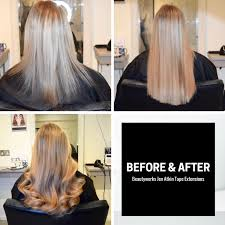 invisible line hair extensions jen atkin invisi tape hair extensions beauty works review