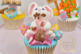 Easter Cupcake Decorations Uk by The 3 Bunnies Of Easter Cupcakes Juniper Cakery Bespoke Cakes