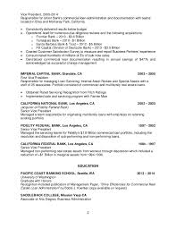 Commercial Real Estate Resume B Koehler Resume Commercial Operations 6