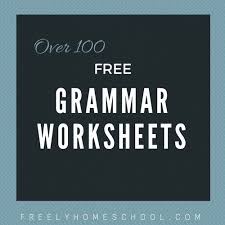 free english grammar worksheets for elementary grades freely