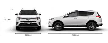 size of toyota rav4 gxl 2 5l petrol awd specifications rav4 suv toyota australia