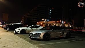 Audi R8 Gt Spyder - audi r8 gt spyder u0026 maserati gran turismo mc stradale la serena