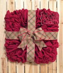 square wire form wreath with burlap for front door darling wood