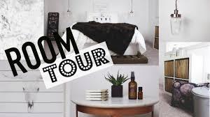 room tour geometric white and wood theme youtube