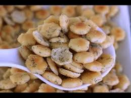 no bake ranch oyster crackers recipe youtube