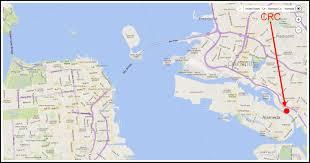 Oakland Ca Map California Rowing Club