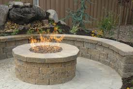 Brick Fire Pits by Campfire Build Your Own Brick Fire Pit