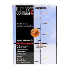 lumineo led connect light string 24v 96 classic warm white leds