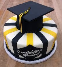 graduation cake toppers graduation cake with graduation cap cake topper trefzger s bakery