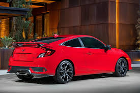 honda civic 2017 coupe honda civic si coupe the extensive remake of the 10th generation