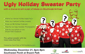 bryant park blog wear an ugly sweater for a chance to win airline