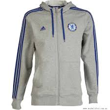 light blue adidas hoodie adidas mens cfc chelsea 3 stripe hooded sweat med grey chelsea blue