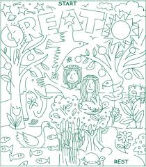 6 best images of creation bible word searches printable