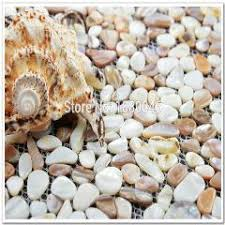 shell tile backsplash glass conch tile brown rose gold diamond design shell tiles