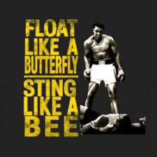 float like a butterfly sting like a bee bebee producer