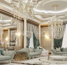 modern luxury villa interior design dubai fancy house