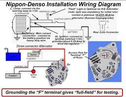 2 wire alternator wiring diagram for delcosi onewire jpg inside