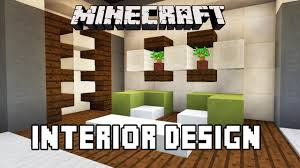minecraft tutorial bathroom and furniture design ideas modern