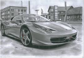 car drawing fourtitude com realistic car drawings