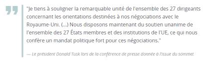 si e conseil europ n le conseil européen adopte les orientations pour les négociations