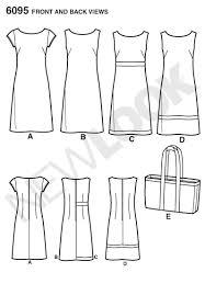 pattern a line shift dress amazon com new look u06095a misses dresses sewing pattern arts