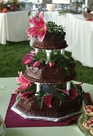 hawaiian themed wedding cakes dessert catering the truffle shop