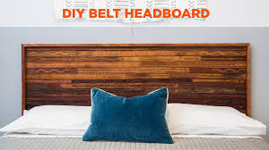 building a padded headboard video diy