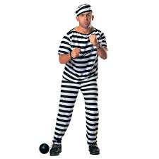 halloween inmate costume role play prison convict