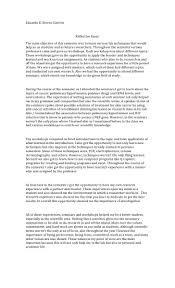 sample reflective essay on writing doc 728942 personal reflection essay sample reflection essay write a reflection essay personal reflection essay sample