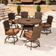 7pc Patio Dining Set Brentwood Outdoor Dining Set 7 Pc Sam S Club