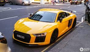 Audi R8 Yellow - audi r8 v10 plus 2015 30 april 2017 autogespot