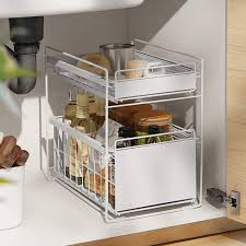 the kitchen sink cabinet organization huij sink organizer sink shelf