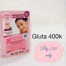 Gluta Lush thailand products supplements