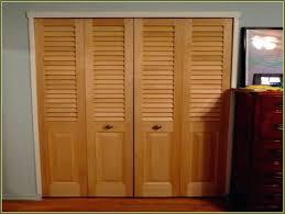 Replace Bifold Closet Doors With Sliding Closet Sliding Bifold Closet Doors Closet Doors House Decor