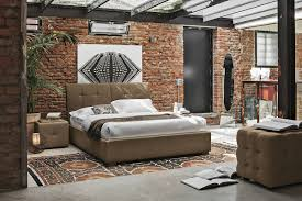 Modern Brick Wall by 50 Modern Bedroom Design Ideas